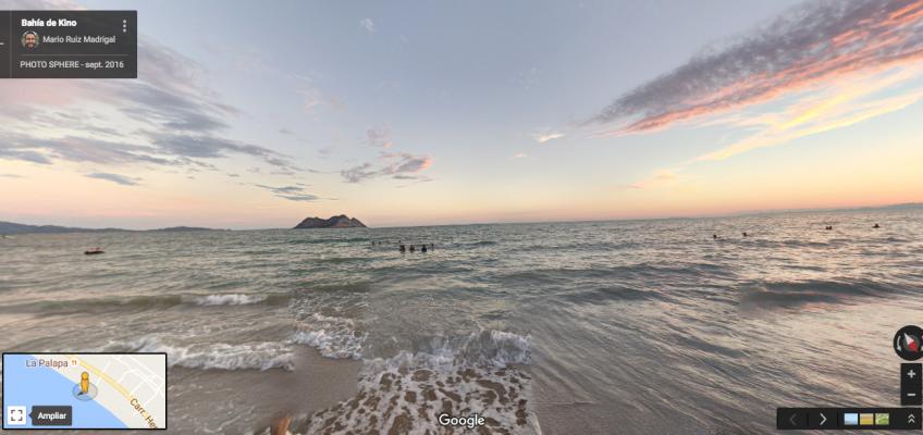 Bahia de Kino 360 Google