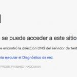 twitter caido tecnología