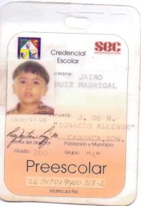 credencial kinder