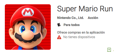 Super Mario Run disponible para ANDROID