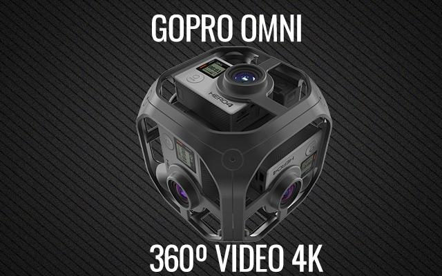 GoPro Omni videos 360º