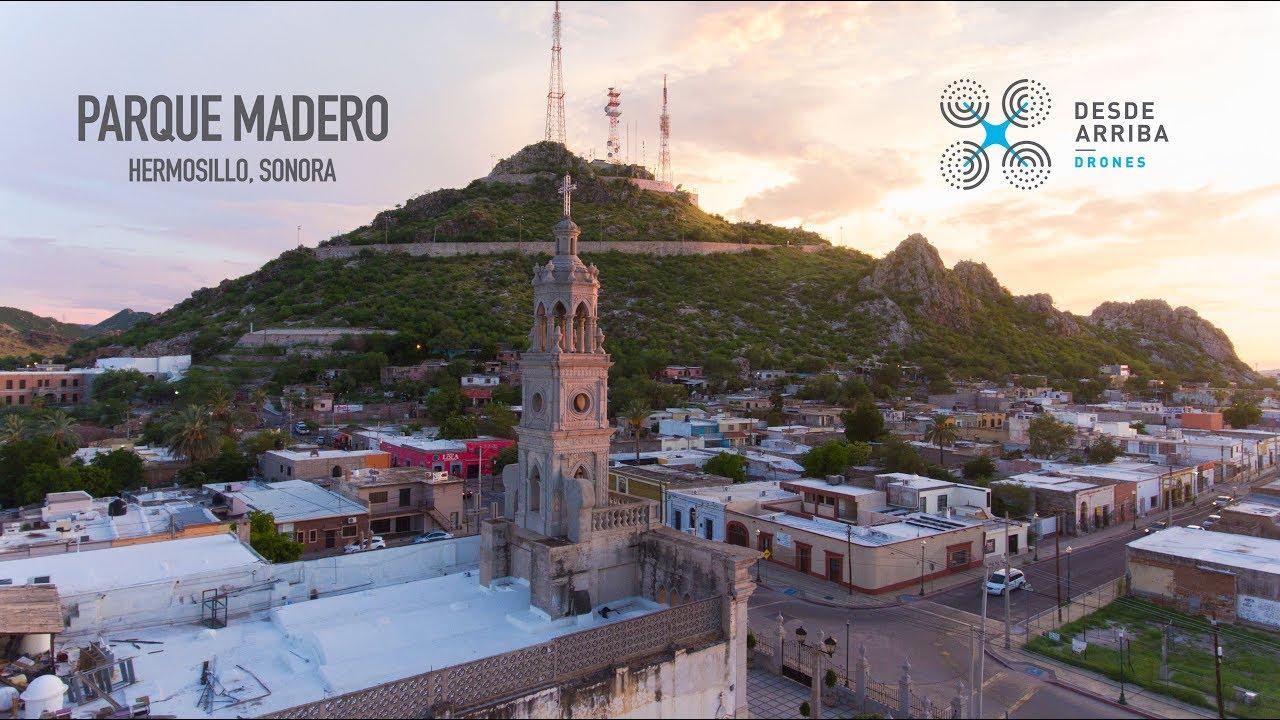 Parque Madero Hermosillo Sonora Desde Arriba Drones Mario Ruiz Madrigal
