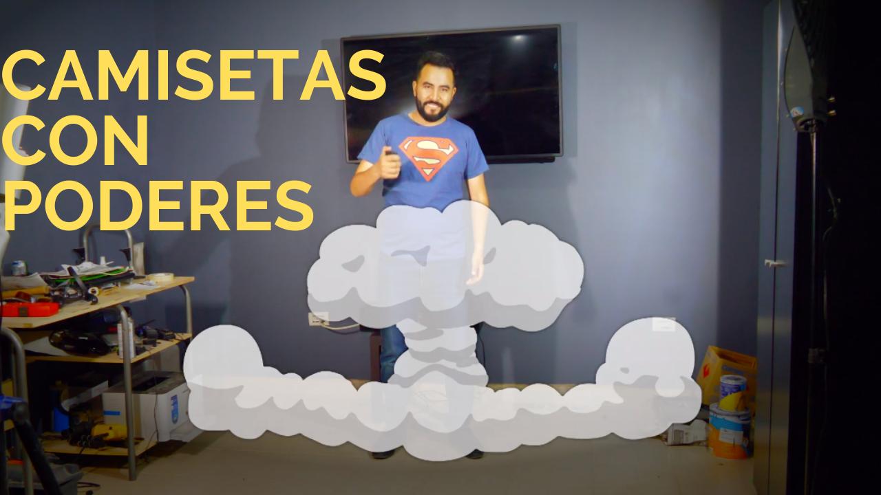 CAMISETAS CON PODERES MASCARA DE LATEX EL MARIO VLOGS