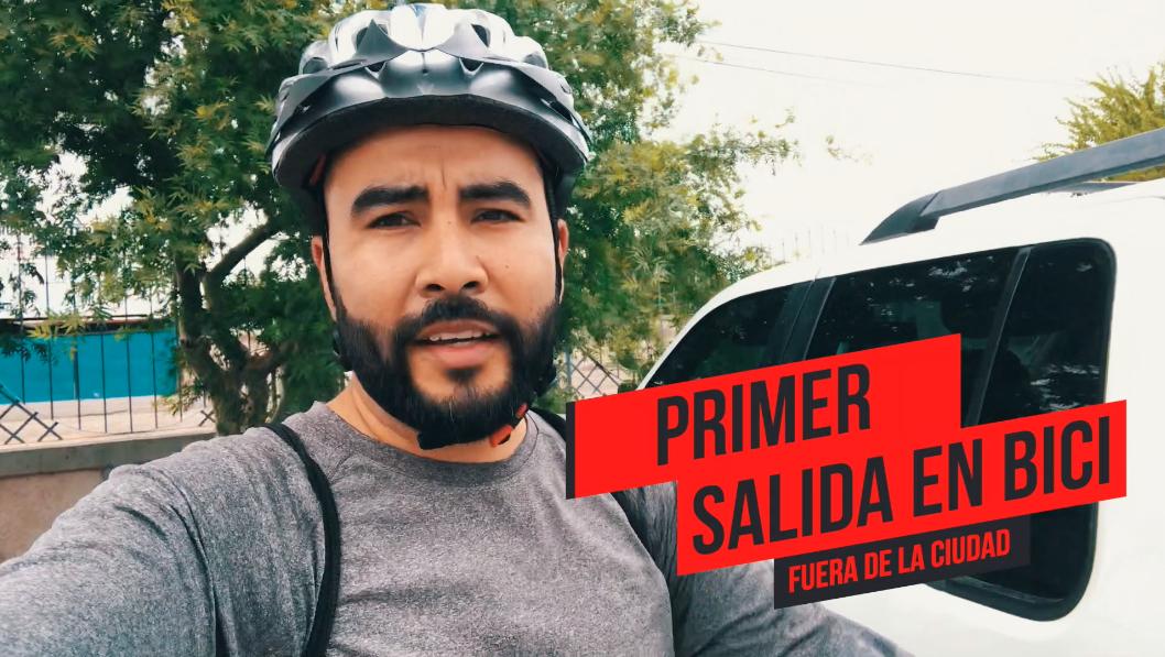 Después de algunos paseos dentro de la ciudad por fin tuve la oportunidad de salir a pedalear al monte. No alcancé a llegar porque me ponché bici