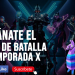 Regalo pase de batalla temporada x fortnite