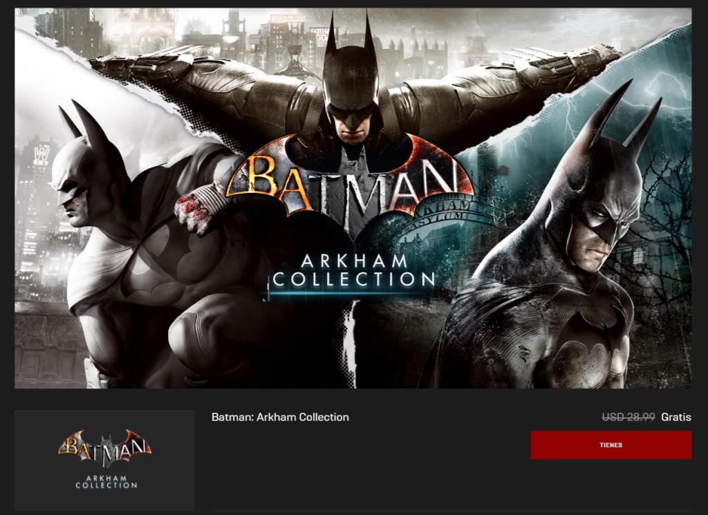 batman epic games juegos gratis