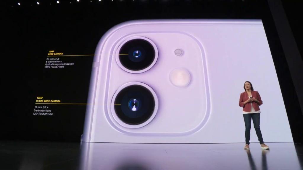iphone 11 cámara gran angular