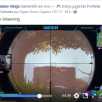 streaming fortnite el mario vlogs
